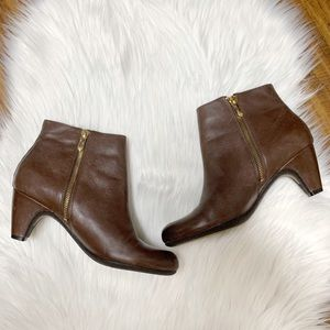 Sam Edelman | brown leather Marmont Booties